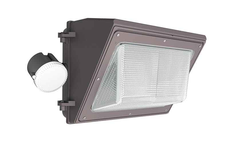 250w mh LED wall pack light with motion sensor