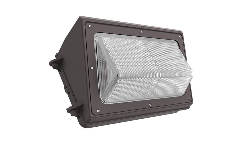 outdoor 100W commercial LED wall pack light fixture