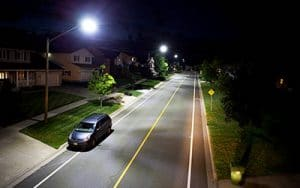 outdoor LED street lights fixtures