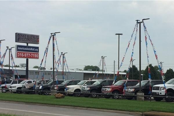 car dealership lighting upgrade to LED in Wichita