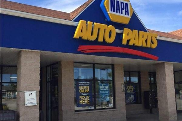 auto parts store lighting upgrade