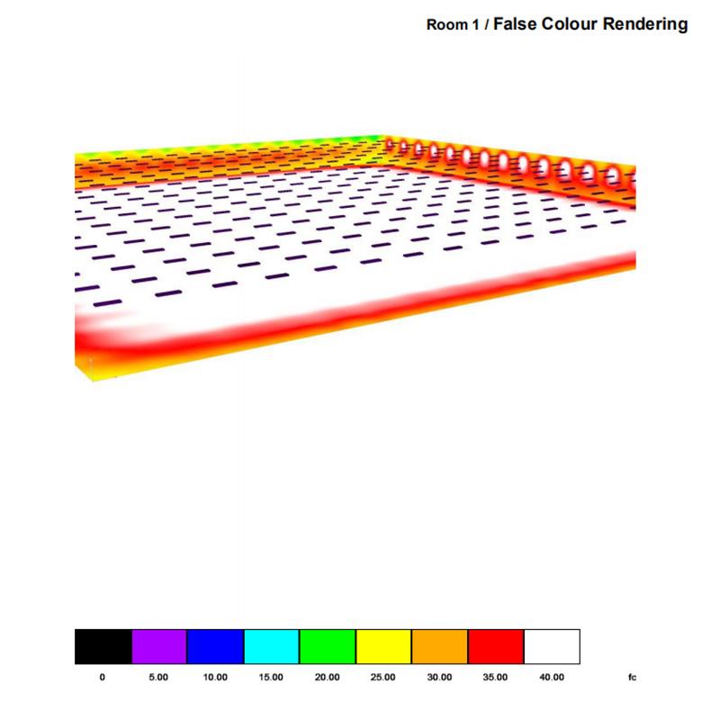 shop lighting simulation