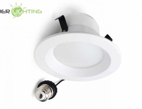 8W 10W 4 Inch LED Can Light Retrofit Incandescent Halogen Downlight Dimmable Replacement ETL Energy Star Certified
