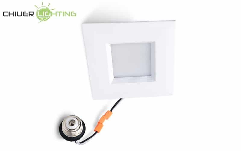 4 inch square led retrofit downlight