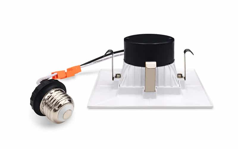 4 inch square recessed lighting retrofit