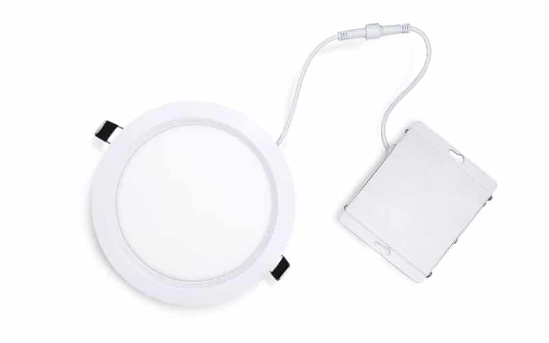 6 in dimmable slim round led downlight flat panel light