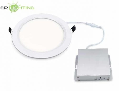 6 In Ultra Thin LED Downlight 12W 15W, Dimmable Recessed Ceiling Circular LED Flat Panel Light, Round Wafer Downlight ETL Energy Star Certified