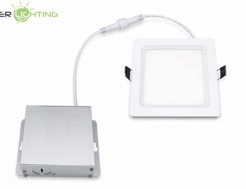 8W 10W 4 Inch LED Square Wafer Light WF4 Canless Recessed Ceiling Ultra Slim Panel Downlight ETL Energy Star Certified