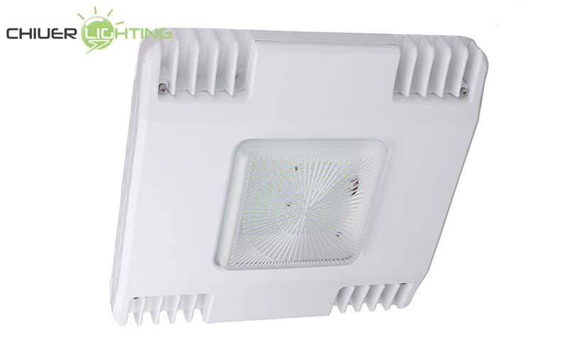 led gas station canopy lights