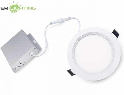 4 Inch 8W 10W Recessed Slim Panel LED Downlight, Ultra Thin Dimmable Round Ceiling Flat Panel Light ETL Energy Star Certified